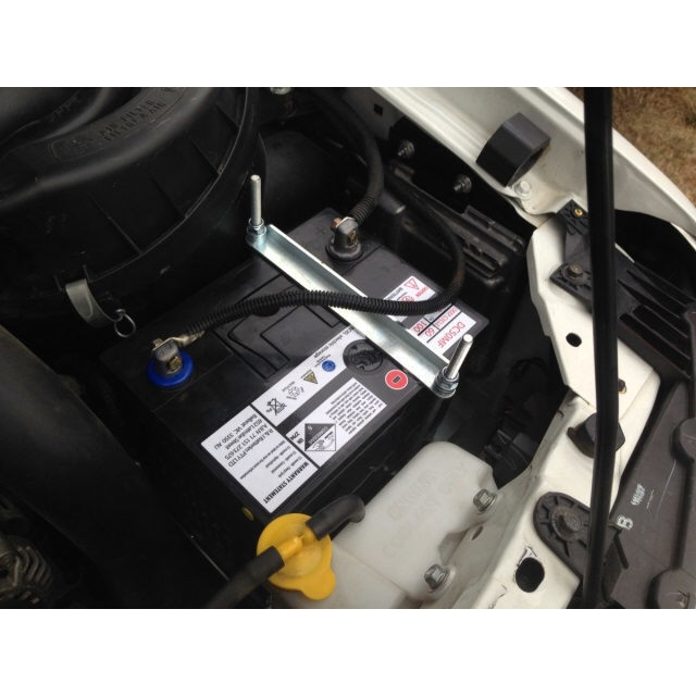 Ford Ranger & Mazda BT50 2007-2011 Dual Battery Tray Aux 2nd Battery