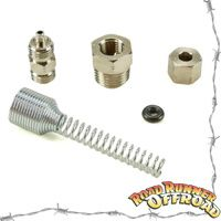 170111 ARB Replacement Bulkhead Fitting Kit, New 3.5MM O Ring Type