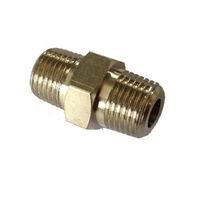 "2102001 - 1/8"" NPT to 1/8"" NPT male-male fitting - suit ARB Air Locker"