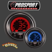 Prosport EVO Digital ELECTRONIC BOOST CONTROLLER Red Blue 52mm