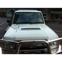 029 Toyota Landcruiser VDJ 76 78 79 V8 models (Ute wagon & troop carrier) intercooler bonnet scoop grille