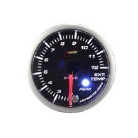 52EGTWGSWLS-P(^C) - GREEN - EGT Gauge 52mm with audible Alarm Exhaust Gas Temperature Pyrometer