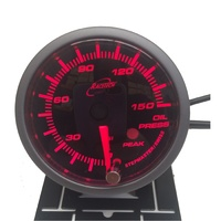 52OPSWLS-P(PSI) -AMBER - Oil pressure Gauge 52mm PSI with audible Alarm