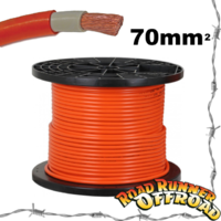 70mm2 Heavy Duty 4x4 4wd Battery Winch Wiring Cable Double Insulated Flex Welding
