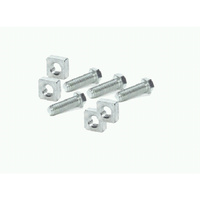 Winch Mounting bolts Set Warn 8274 high mount 4 bolts and square Nuts Warn 7165 7616