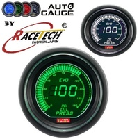 AGEVOWGOP-PSI Autogauge EVO Digital Green-White Oil Pressure Gauge PSI 52mm