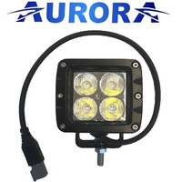 "2"" compact aurora LED work flood light 4 X 5W"