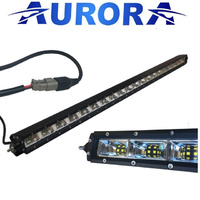 "40"" Aurora Single Row 5w LED LIGHT BAR Aurora 40 X 5W OSLON Scene 120 Deg"
