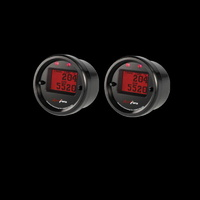 Aeroforce Interceptor Gauge GM V8 CAN BUS (GEN IV+ LS) Red Twin Gauge Pack