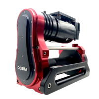 Red Winches Cobra 2 (12v) XL Drum 3,750kg (8,200 lbs) STANDARD