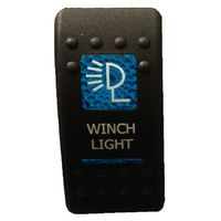 CWILS12V-B  -  Carling Winch Light SPST switch 12v