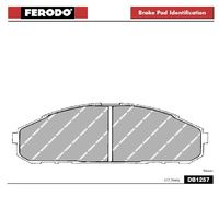 DB1257GP2 -  Ferodo GP2 Brake Pad Set for GQ Nissan Patrol EFI Front (Twin piston)