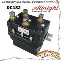 DC182PL 12V DC EXTRA HEAVY DUTY HI OUTPUT ALBRIGHT SOLENOID 12V SUPER DUTY