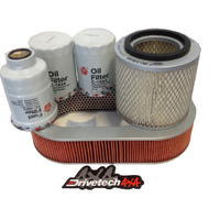 Air Fuel Oil Filter kit for Nissan Y61 GU PATROL TD42 4.2L Turbo only 5/99-5/02