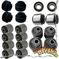 Full Suspension Bush kit rubber GU Wagon fits Nissan Patrol With 2 Deg caster Castor