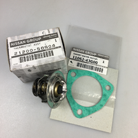 Genuine Nissan Patrol TD42 Thermostat and Gasket Green Kit