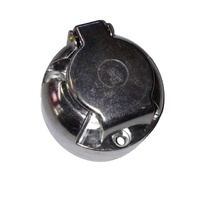 Aluminium 7 pin surface mount trailer socket