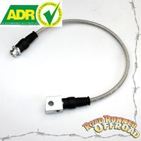 "GQ GU 3"" 4"" 5"" Rear Braided extended Brake line ADR  fits Nissan Patrol"