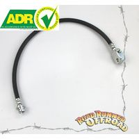 "extended Front ADR approved ABS Brakelines fits Nissan GU Patrol 3"" - 5"""