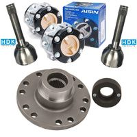 PTK100CVJAIS - Toyota 100 Series Part Time 4wd Conversion kit Heavy Duty Aisin hub CVJ x 2 (Live axle only)