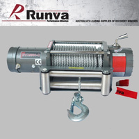 Runva EWX9500-Q Fast low mount winch with Steel Cable
