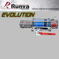 RUNVA EWX9500-Q Evolution Electric Winch 12V with rope