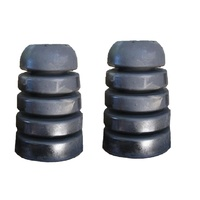 S0512R-PAIR  Bump stops extended Rubber 80 Series landcruiser suit Patrol Gu Gq (PAIR)