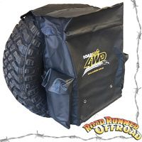 SB619 REAR WHEEL BIN BAG LARGE PVC HEAVY DUTY RUBBISH 4WD