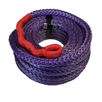 Purple UHMWPE Winch Rope 40mtrs x 10mm Synthetic Cable