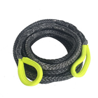 10mtr x 11mm Auz Competition Winch rope Extension Grey